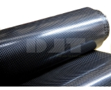 Soft Carbon Fiber Fabric Coated with TPU film